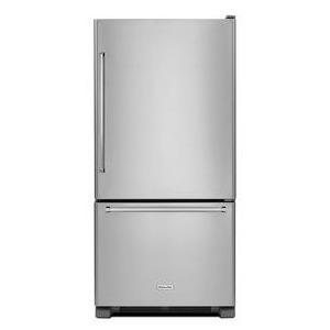 22 cu. ft. 33-Inch Width Full Depth Non Dispense Bottom Mount Refrigerator