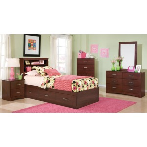 Briar 3 Drawer Mates Bed