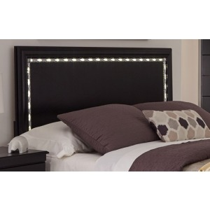 Swag Full/Queen LED Panel Headboard