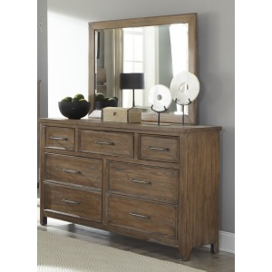 Harper Falls Hacienda Dresser with Mirror