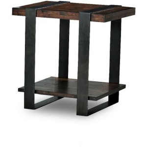 Timber Forge End Table