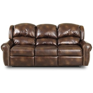 McAlister Reclining Sofa w/Lthr