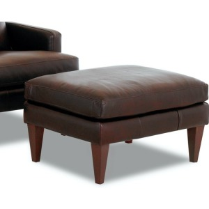 Townsend Leather Ottoman