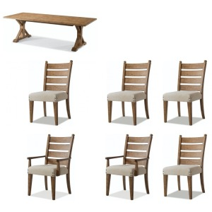 Coming Home 7PC Dining Set