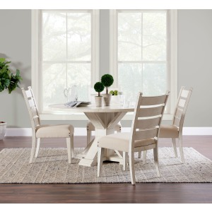 Coming Home 5 PC Dining Set - Chalk