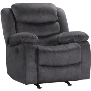 Hoffman Rocking Reclining Chair - Yadi Charcoal
