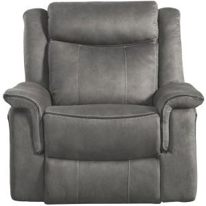 Kisner Rocking Reclining Chair  - Lorenzo Grey