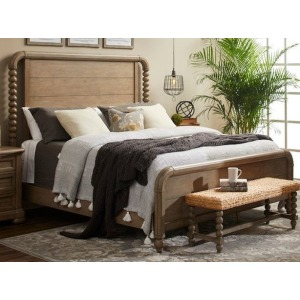 Nashville King Panel Bed