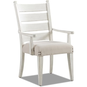 Coming Home Arm Chair - Chalk