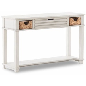 Chanbers White Sofa Table
