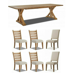 Coming Home 7 PC Dining Set
