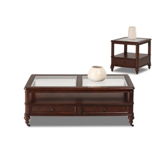Kinston 2PC Occasional Table Set