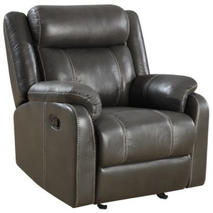 Domino Gliding Recliner Chair - Valor Carbon