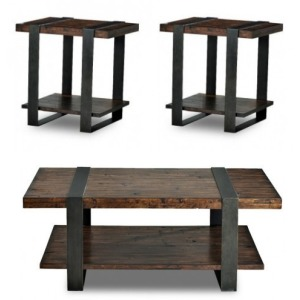 Timber Forge 3 PC Occasional Table Set