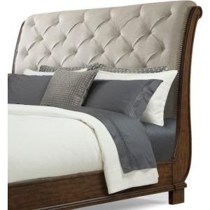 Dottie Upholstered Sleigh King Headboard