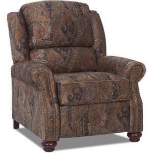 Juliet High Leg Reclining Leather Chair