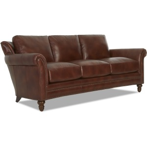 Elaine Leather Sofa