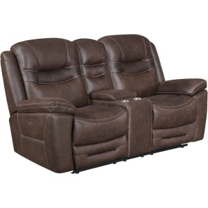 Turismo Power Reclining Console Loveseat
