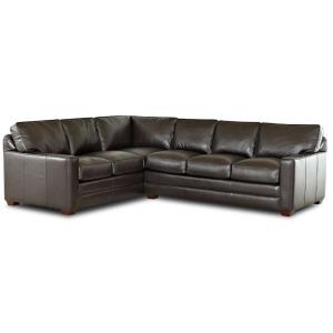 Pantego Leather Sectional