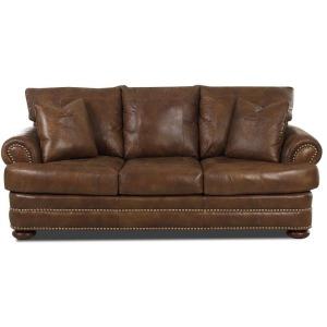 Montezuma Sofa w/Lthr