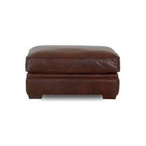 Homestead Leather Ottoman