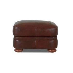 Montezuma Leather Ottoman