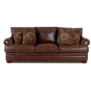 Montezuma Studio Leather Sofa