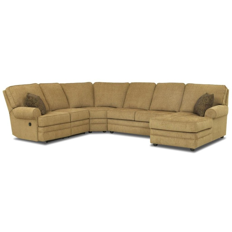 Belleview Sectional By Klaussner 21303 Fab Sect