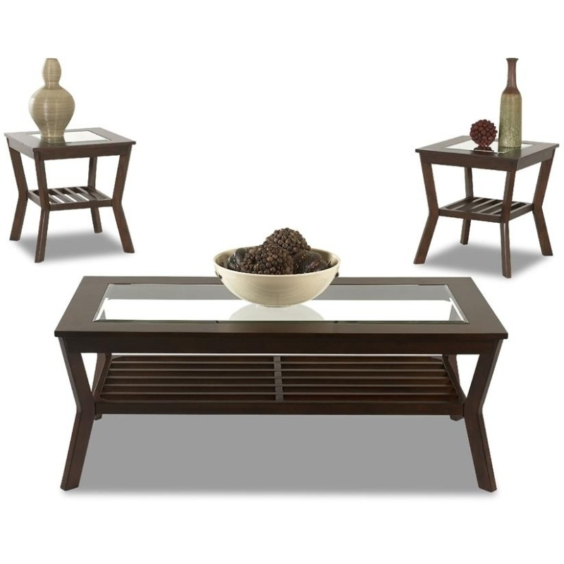 International 3 Table Pack, 2 End,1 Cocktail 238-001 3PAK