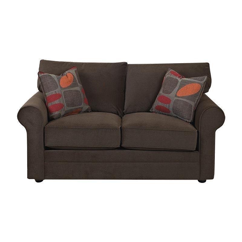 Wondrous Comfy Loveseat By Klaussner 36300 Ls Missouri Furniture Frankydiablos Diy Chair Ideas Frankydiabloscom