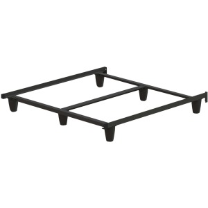 EnGauge™ Hybrid Bed Frame - Queen / Black