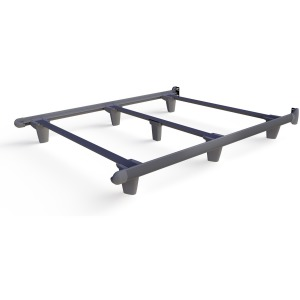EmBrace™ Bed Frame - Queen / Grey