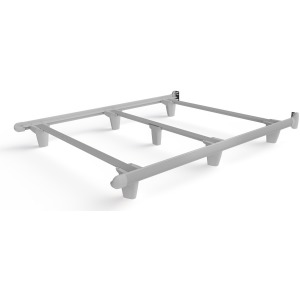 EmBrace™ Bed Frame - Queen / White