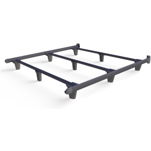 EmBrace™ Bed Frame - King / Grey