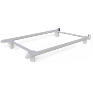 EmBrace™ Bed Frame - Twin / White