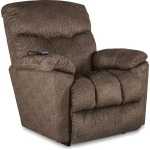 Morrison Power Rocking Recliner w/ Head Rest & Lumbar