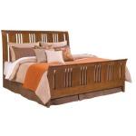 Cherry Park Sleigh Queen Bed