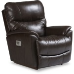 Trouper Power Rocking Recliner w/ Head Rest, Lumbar & Remote