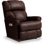 Pinnacle Rocking Recliner w/Headrest, Lumbar & USB Port