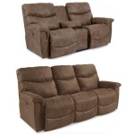 James Power Reclining Sofa & Loveseat Set