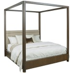 AD Modern Organics Freemont Queen Canopy Bed 5/0 Complete