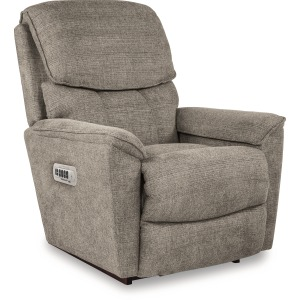 Kipling Power Rocking Recliner w/ Head Rest, Lumbar, & Wireless Remote