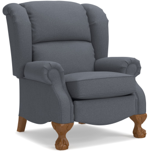 Buchanan High Leg Recliner w/ Brass Nail Head Trim