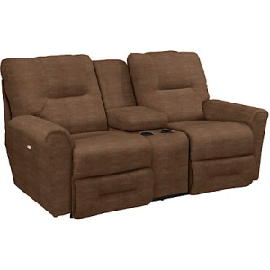 Easton La-Z-Time Full Reclining Loveseat w/ Console