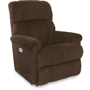 Pinnacle Power Rocking Recliner w/ Head Rest, Lumbar & Wireless Remote