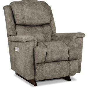Stratus Power Rocking Recliner w/ Headrest and Lumbar