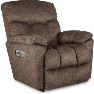 Morrison Power Rocking Recliner w/ Head Rest & Lumbar w/Wireless Remote