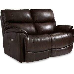 Brooks Power Reclining Loveseat w/ Headrest