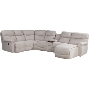 James 5 PC Power Reclining Sectional