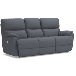 Trouper PowerRecline La-Z-Time Full Reclining Sofa w/ Power Headrest